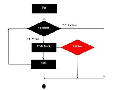 Flow Diagram of VBA - Exit For Shout For Education