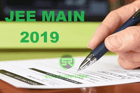 JEE Main 2019 - mytechmint
