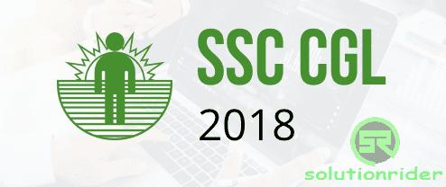 SSC CGL 2018 - myTechMint