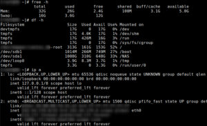 Linux Commands frequently used by Linux Sysadmins