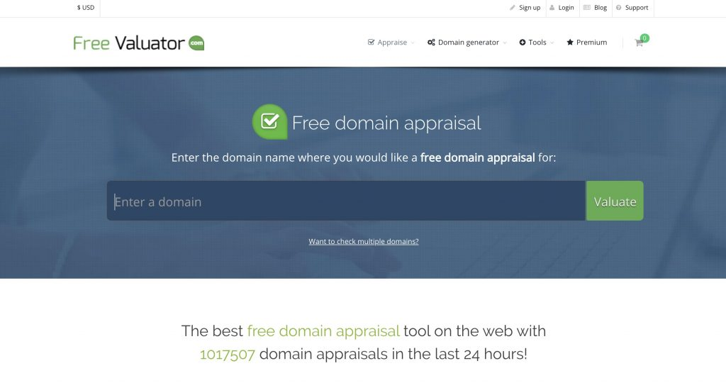 free evaluator website - Best Domain Appraisal Services And Domain Name Value Checkers - mytechmint.com