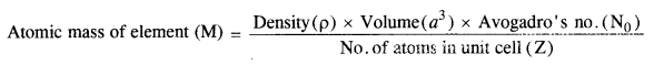 NCERT Solutions for Class 12 Chemistry Chapter 1 The Solid State 5