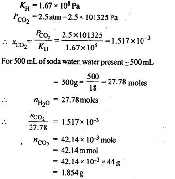 NCERT Solutions For Class 12 Chemistry Chapter 2 Solutions 5