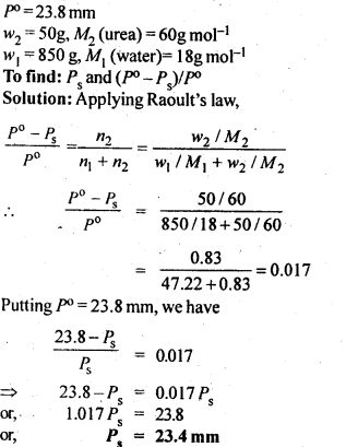 NCERT Solutions For Class 12 Chemistry Chapter 2 Solutions 7