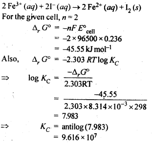 NCERT Solutions For Class 12 Chemistry Chapter 3 Electrochemistry-5