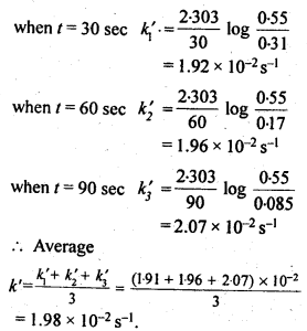 NCERT Solutions For Class 12 Chemistry Chapter 4 Chemical Kinetics-8