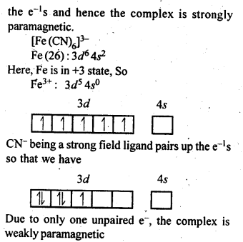 NCERT Solutions For Class 12 Chemistry Chapter 9 Coordination Compounds-9