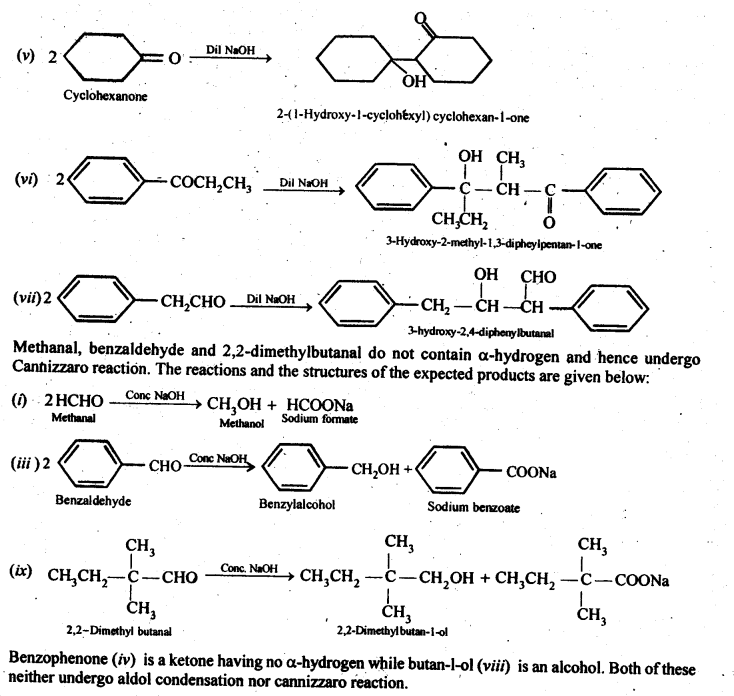 NCERT Solutions For Class 12 Chemistry Chapter 12 Aldehydes Ketones and Carboxylic Acids-30