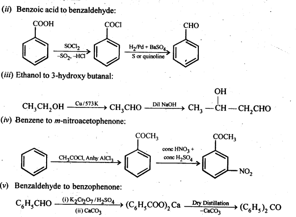 NCERT Solutions For Class 12 Chemistry Chapter 12 Aldehydes Ketones and Carboxylic Acids-42