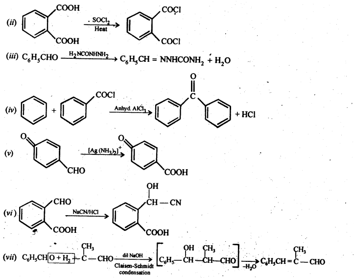 NCERT Solutions For Class 12 Chemistry Chapter 12 Aldehydes Ketones and Carboxylic Acids-82