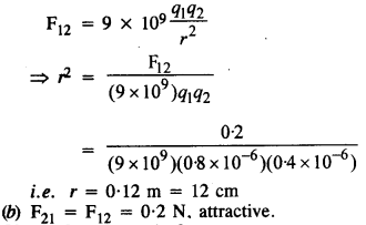 NCERT Solutions for Class 12 physics Chapter 1.1