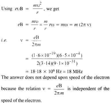 NCERT Solutions for Class 12 physics Chapter 4.13