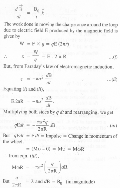 NCERT Solutions for Class 12 physics Chapter 6.26