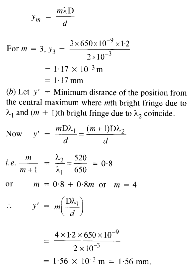 NCERT Solutions for Class 12 physics Chapter 10 Wave optics.4