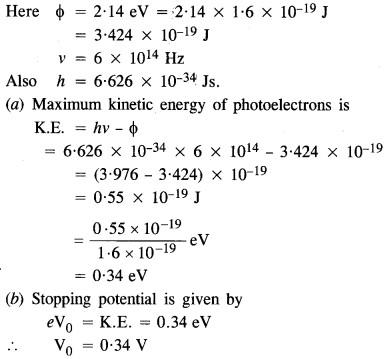 NCERT Solutions for Class 12 physics Chapter 11 Dual Nature of Radiation and Matter.2