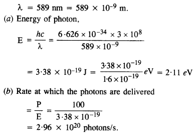 NCERT Solutions for Class 12 physics Chapter 11 Dual Nature of Radiation and Matter.8