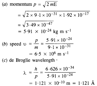 NCERT Solutions for Class 12 physics Chapter 11Dual Nature of Radiation and Matter.22