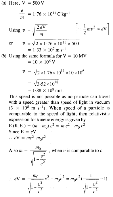 NCERT Solutions for Class 12 physics Chapter 11 Dual Nature of Radiation and Matter.31
