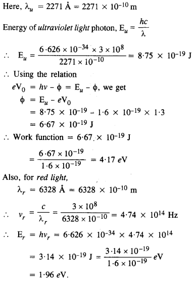 NCERT Solutions for Class 12 physics Chapter 11 Dual Nature of Radiation and Matter.41