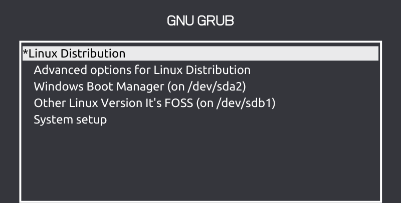 Grub Screen Linux - mytechmint