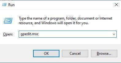 type in 'gpedit.msc' and hit Enter - mytechmint
